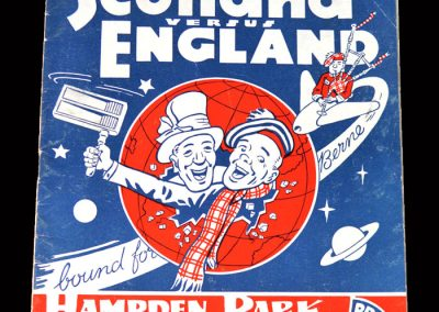 Scotland v England 03.04.1954
