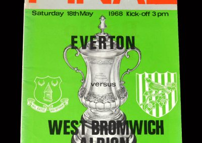 West Brom v Everton 18.05.1968 - FA Cup Final