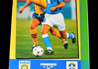 Sweden v Brazil 04.06.1995