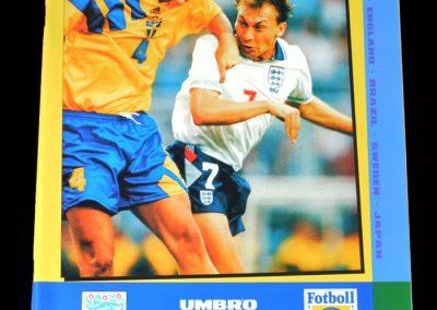 England v Sweden 08.06.1995