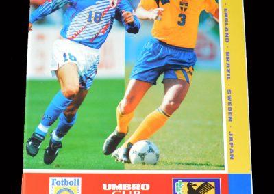 Sweden v Japan 10.06.1995