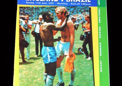 England v Brazil 11.06.1995