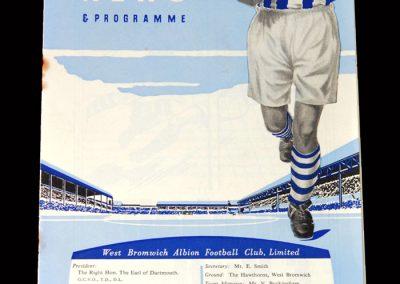 Arsenal v West Brom 19.08.1953