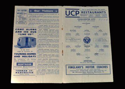 Arsenal v Man City 06.02.1954
