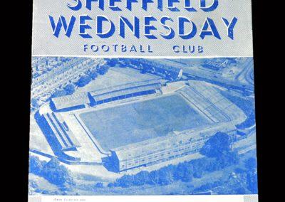 Arsenal v Sheff Wed 20.03.1954