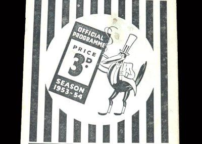 Arsenal v Newcastle 17.04.1954