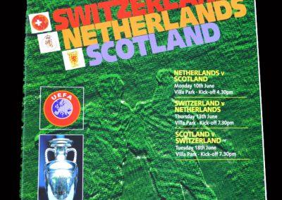 Group A Games - Switzerland, Netherlands, Scotland