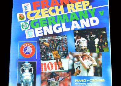 France v Czech Rep 26.06.1996 Semi Final | Germany v England 26.06.1996 Semi Final