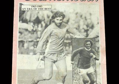 Bournemouth v Wigan 07.05.1983
