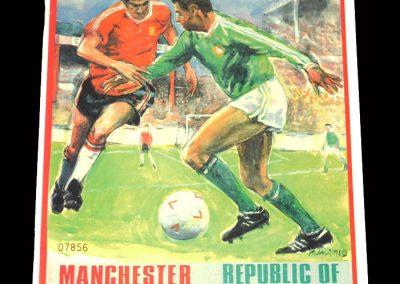 Man Utd 11 v Rep Ireland 11 - Sir Matt Busby Testimonial 11.08.1991