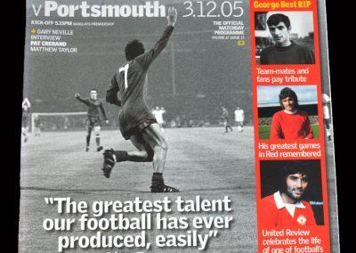 Man Utd v Portsmouth 03.12.2005 - RIP