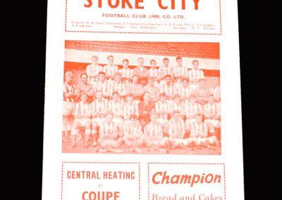 Stoke v Rotherham 29.12.1962