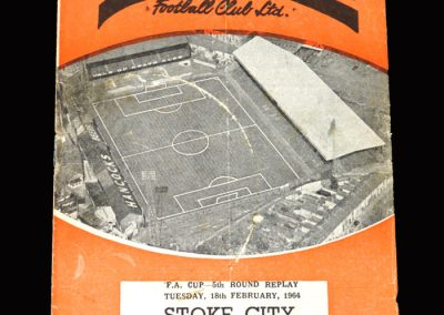 Stoke v Swansea 18.02.1964 - FA Cup 5th Round Replay