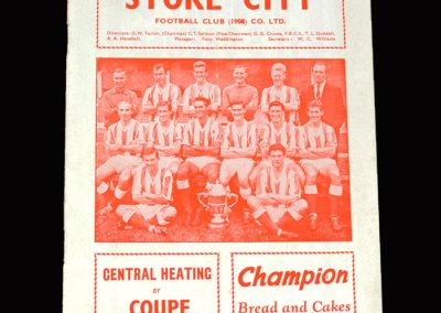 Stoke v Everton 04.04.1964