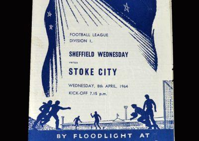 Stoke v Sheff Wed 08.04.1964