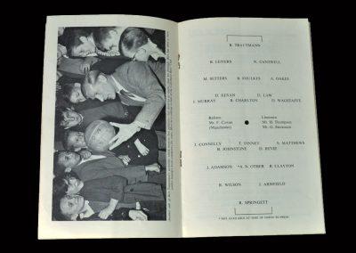 Man Utd & City v All Stars 15.04.1964 - Bert Trautmann Testimonial