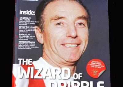 Stoke v Blackpool 11.12.2010 - Stan Matthews Tribute