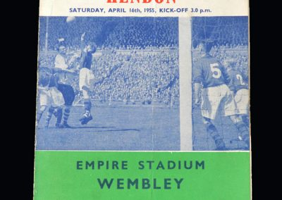 Bishop Auckland v Hendon 16.04.1955 - FA Amateur Cup Final (Pirate)
