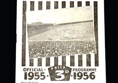 Bishop Auckland v Kingstonian 17.03.1956 - FA Amateur Cup Semi Final