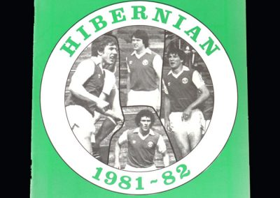 Hibs v San Jose 05.10.1981 - George returns with the Americans