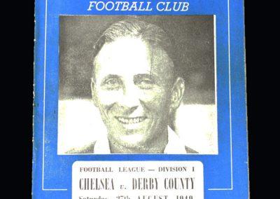 Chelsea v Derby 27.08.1949