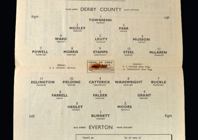 Derby v Everton 04.03.1950 - FA Cup 6th Round