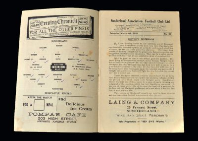 Sunderland v Newcastle 04.03.1950