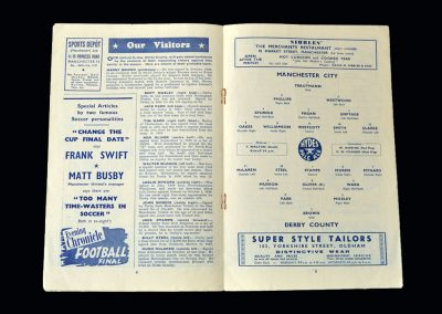 Man City v Derby 22.04.1950