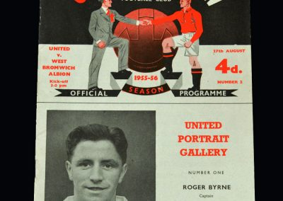 Man Utd v West Brom 27.08.1955