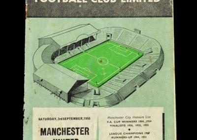 Man Utd v Man City 03.09.1955