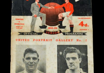 Man Utd v Everton 07.09.1955