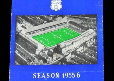 Man Utd v Everton 14.09.1955