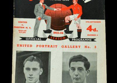 Man Utd v Preston 17.09.1955