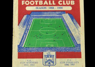 Man Utd v Burnley 24.09.1955