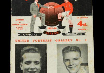 Man Utd v Luton 01.10.1955