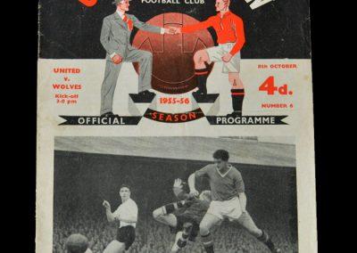 Man Utd v Wolves 08.10.1955