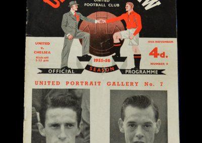 Man Utd v Chelsea 19.11.1955