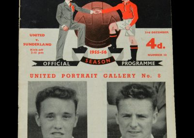 Man Utd v Sunderland 03.12.1955