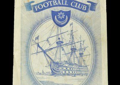Man Utd v Portsmouth 10.12.1955