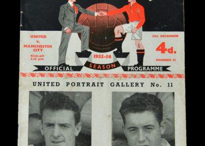 Man Utd v Man City 31.12.1955