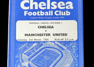 Man Utd v Chelsea 03.03.1956