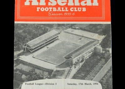 Man Utd v Arsenal 17.03.1956