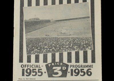 Man Utd v Newcastle 02.04.1956
