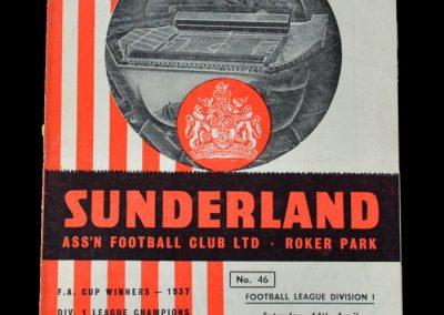 Man Utd v Sunderland 14.04.1956