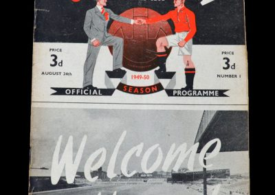 Man Utd v Bolton 24.08.1949 - First game back at Old Trafford