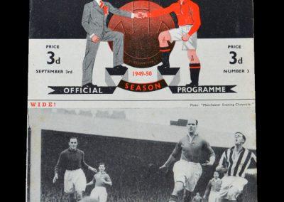 Man Utd v Man City 03.09.1949