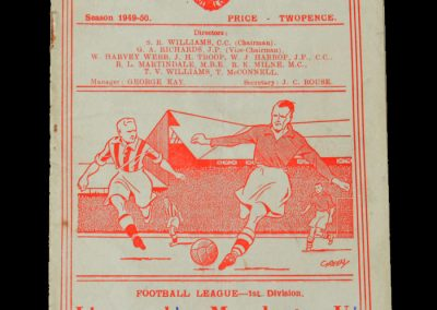 Man Utd v Liverpool 07.09.1949