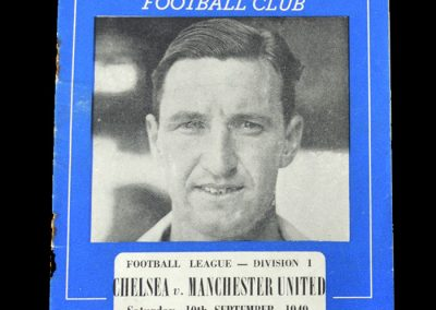 Man Utd v Chelsea 10.09.1949