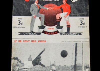 Man Utd v Wolves 22.10.1949