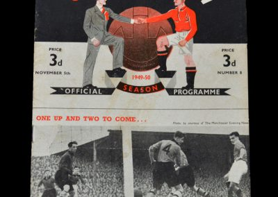 Man Utd v Huddersfield 05.11.1949